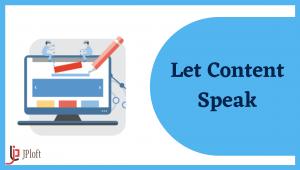 Let Content Speak