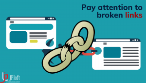 Pay attention to broken links