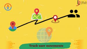 Track user movements
