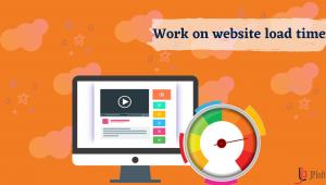Work on website load time